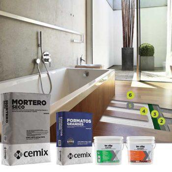 aplicación de pisos