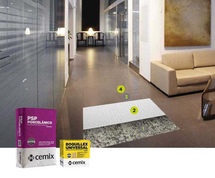 adhesivos piso sobre piso