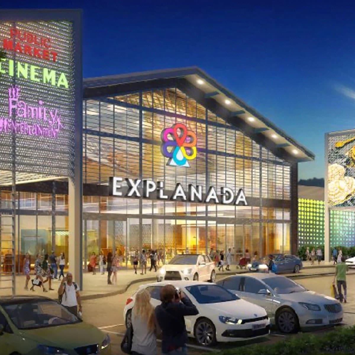 centro comercial explanada