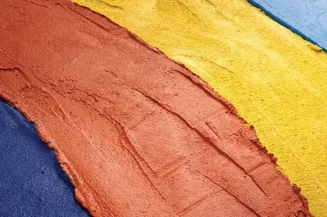 cemento de colores